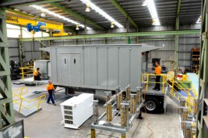 Transportable substation