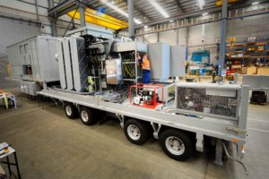 Emergency response mobile substation