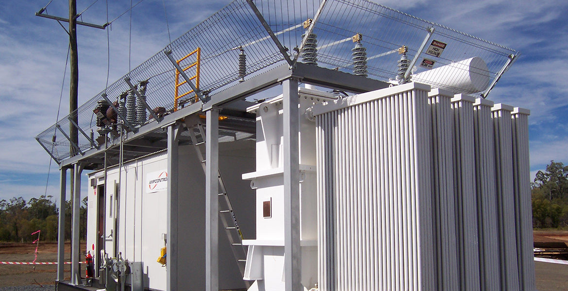Substations | Modular, Transportable, Armoured | Ampcontrol