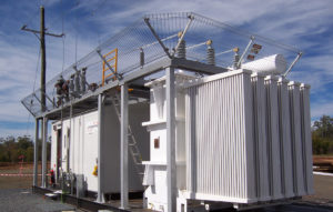 relocatable substation