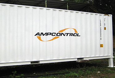 compact containerised substation Ampcontrol