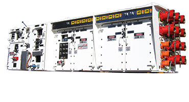 Ampcontrol DCB distribution control board box load centre gate end box