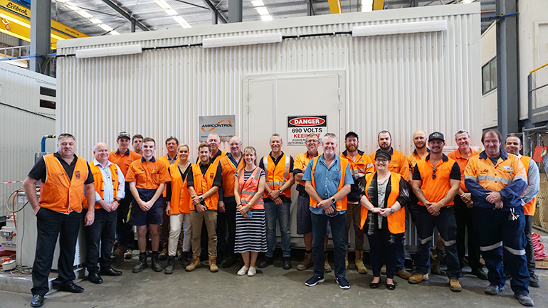 Switchrooms manufacture Westconnex