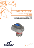 Gasguard 2 detector user manual