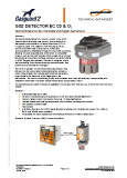 Gasguard 2 electrochemical detectors tech data sheet