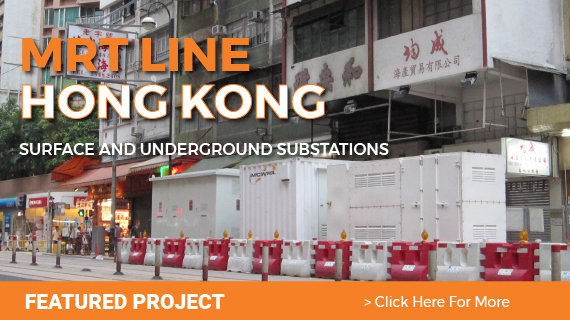 HONG KONG TUNNELLING SUBSTATIONS MRT LINE