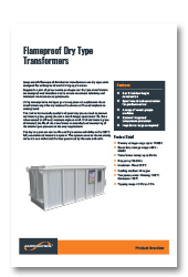Flameproof-Dry-Type Transformers